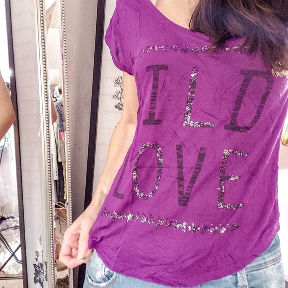 Express Tops - Wild Love t-shirt